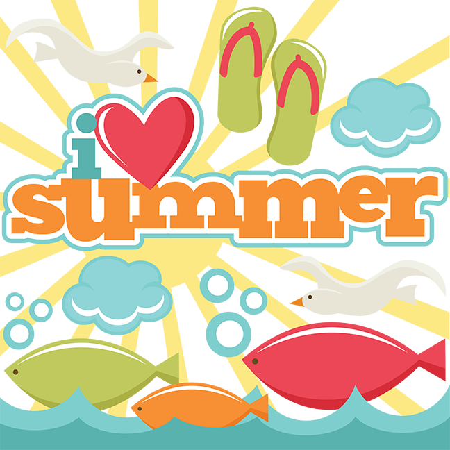 Design svg summer. I love cut files