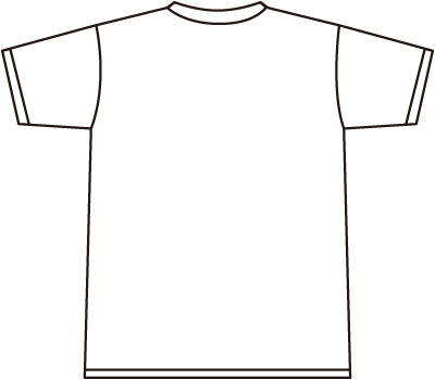Design svg t shirt. Back vector public domain