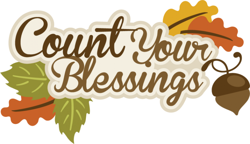 Happy thanksgiving clipart count your blessing. Blessings svg scrapbook title