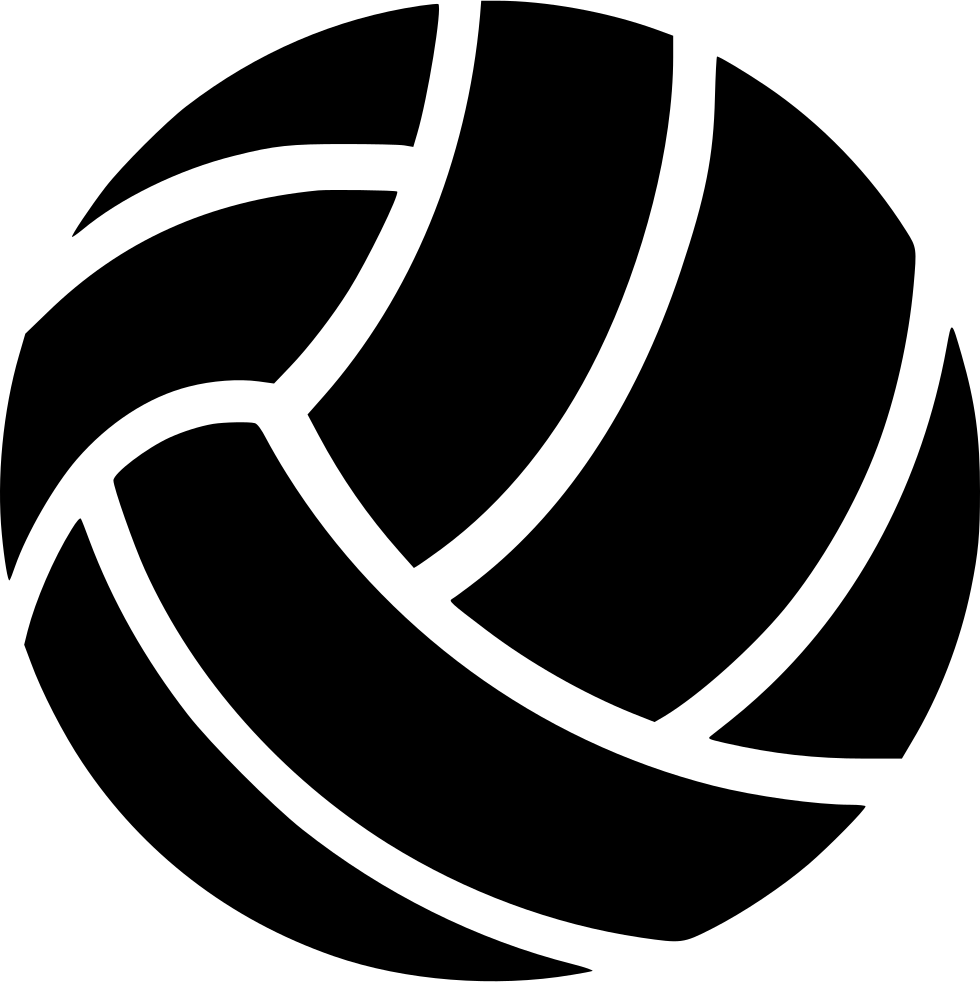 Svg design volleyball. Png icon free download