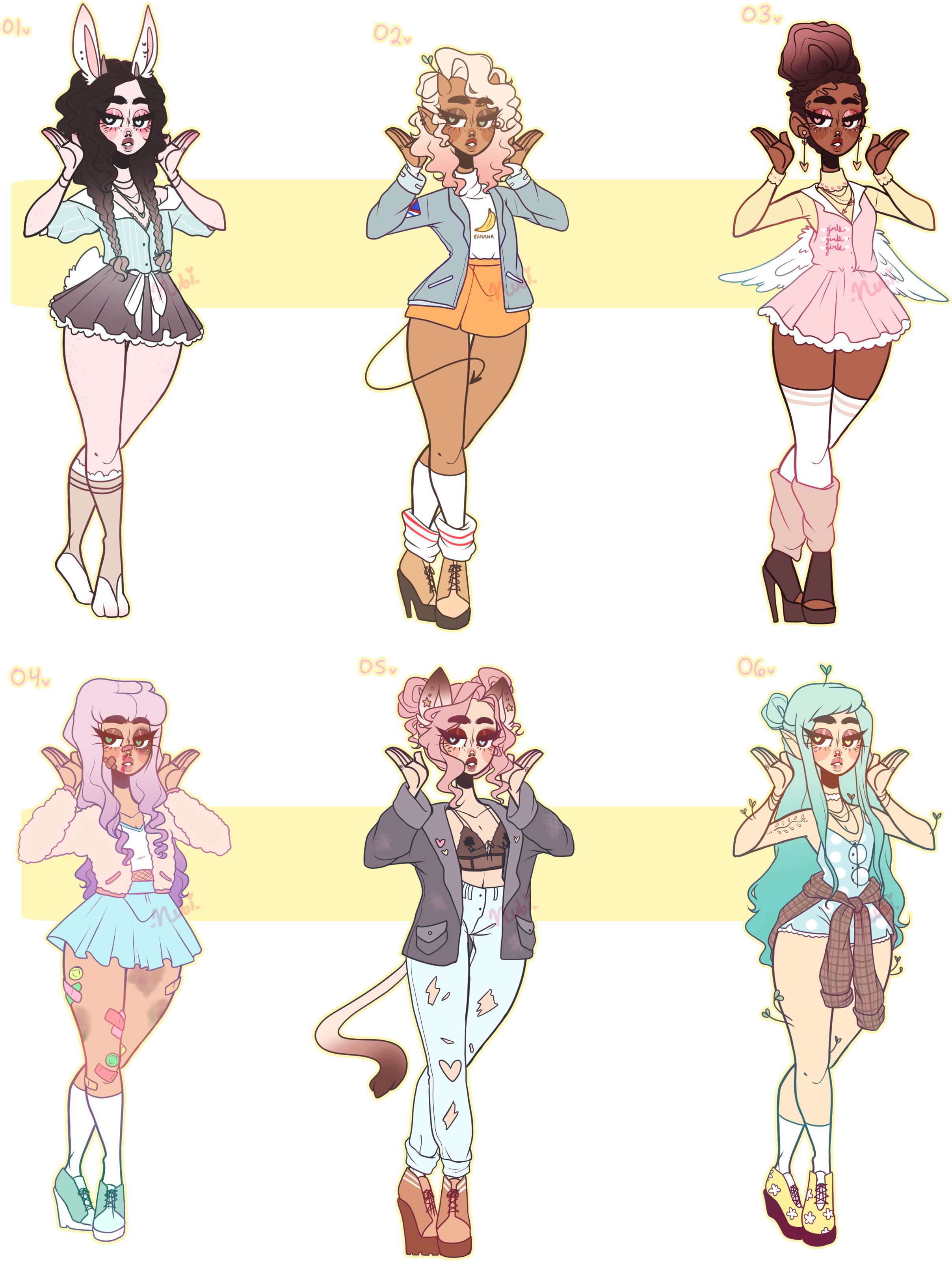 Outfits drawing aesthetic. Adopts closed by jawlatte
