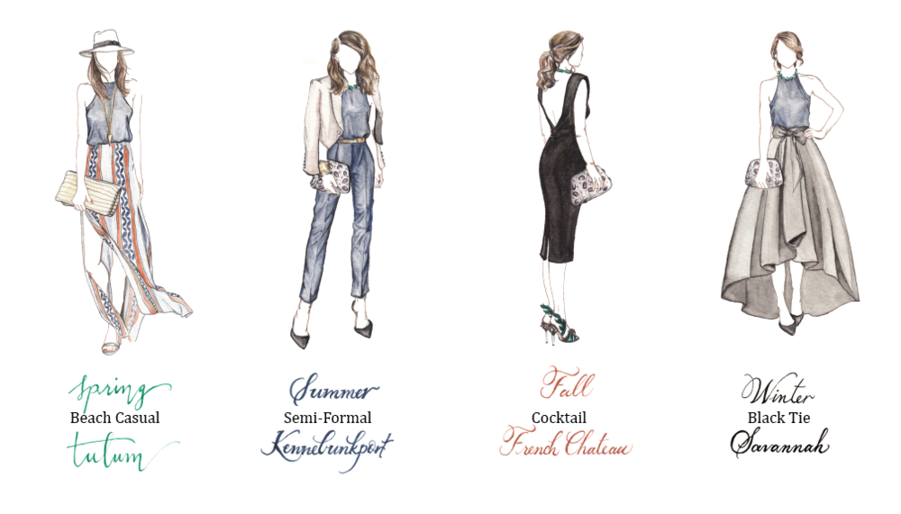 Designer drawing high fashion. Blog serena martin design