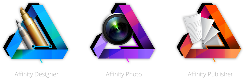 Vector designer affinity. The most common and