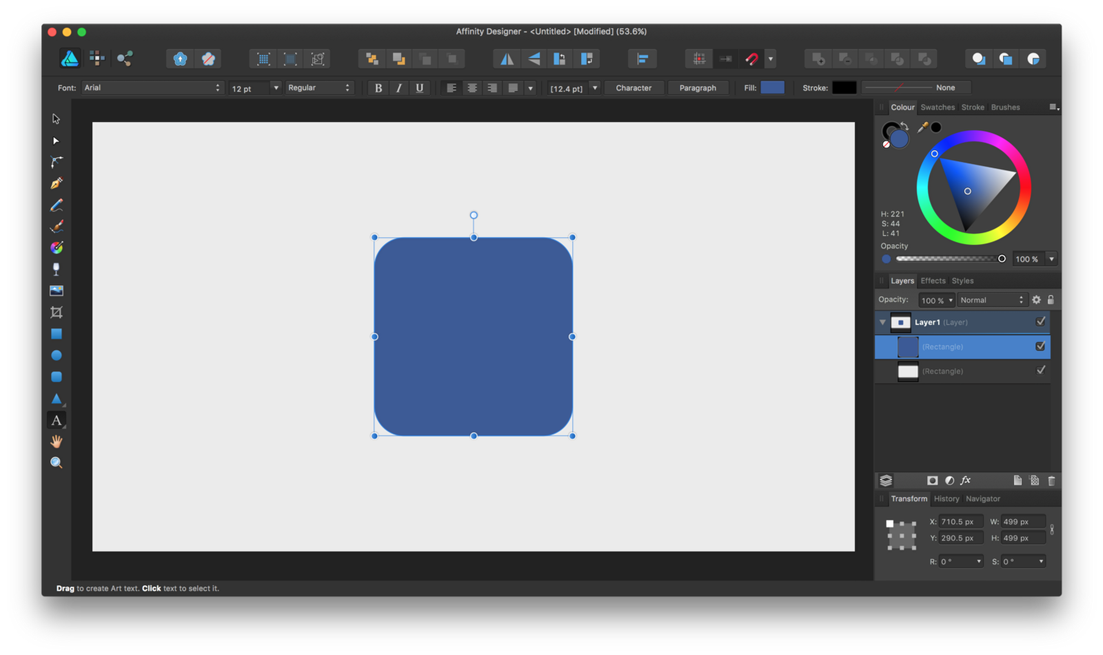 Vector designer affinity. Creating flat icons in