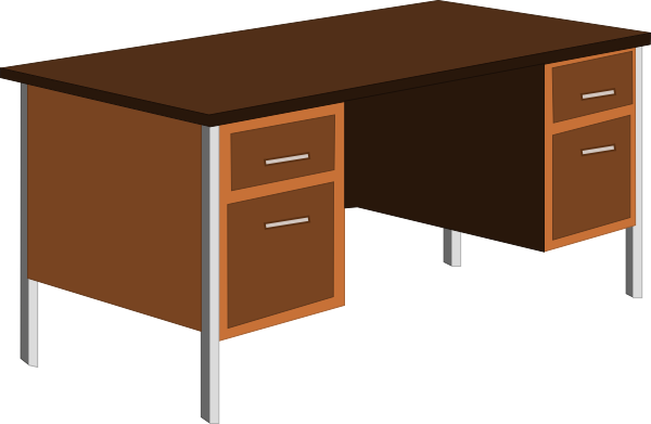 cartoon desk png