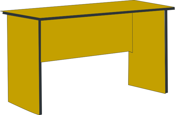 Working vector office desk. Free clipart download clip