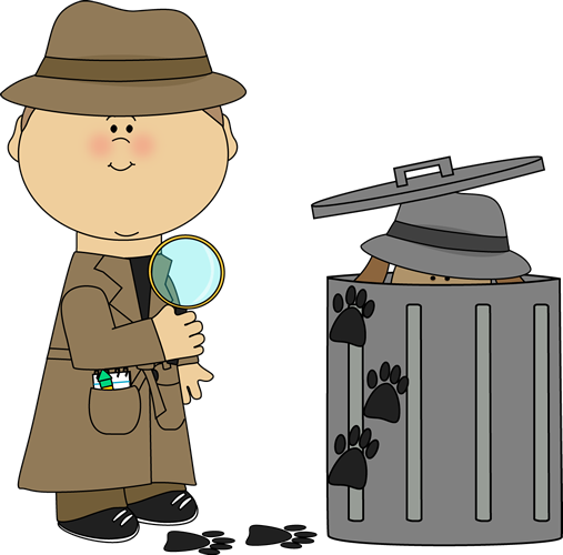 Desk clipart detective. Find the clue looking