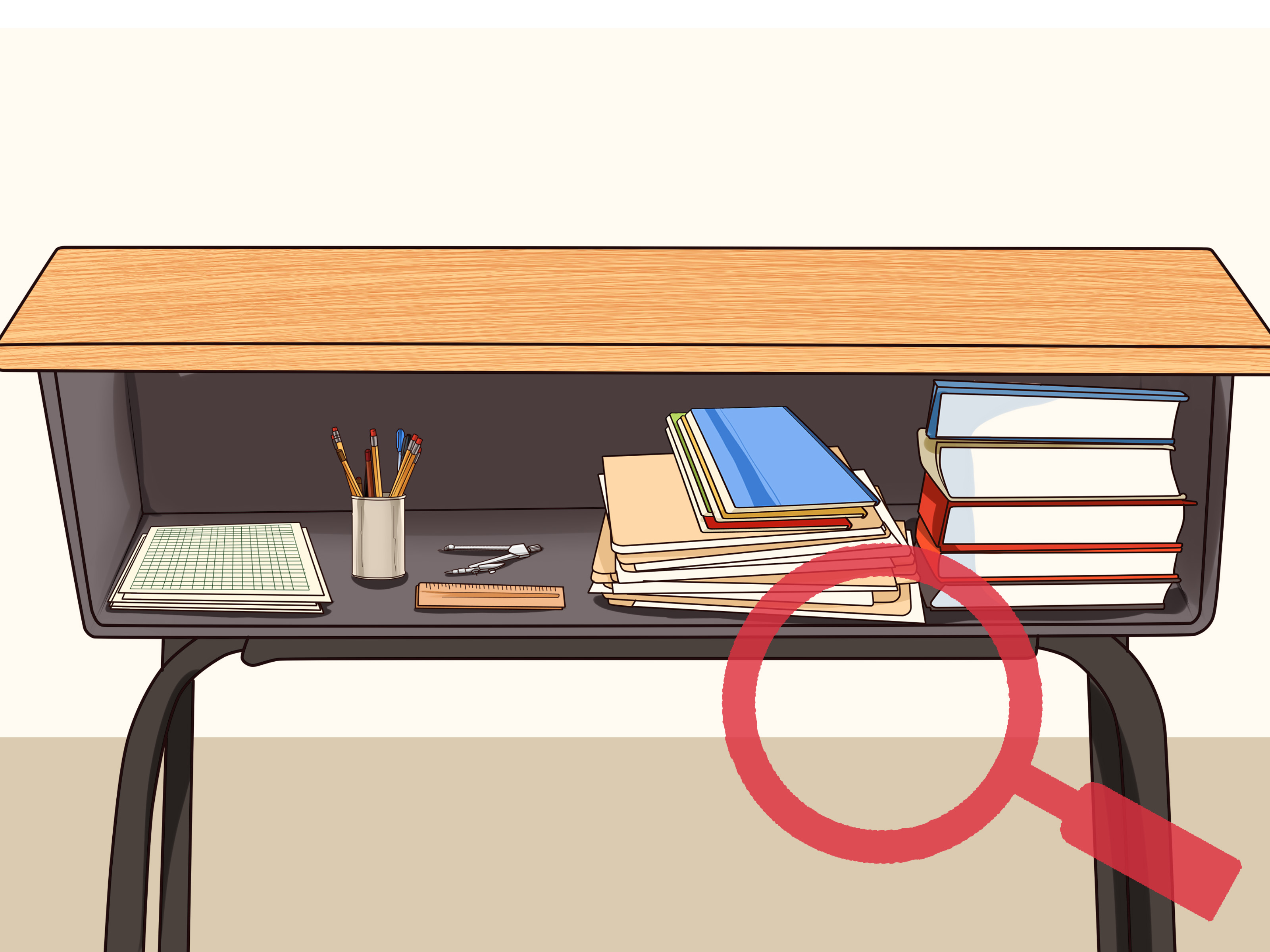 Desk clipart elementary school. How to organize your