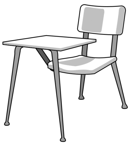 Chair clipart school desk chair. Endearing middle free clip