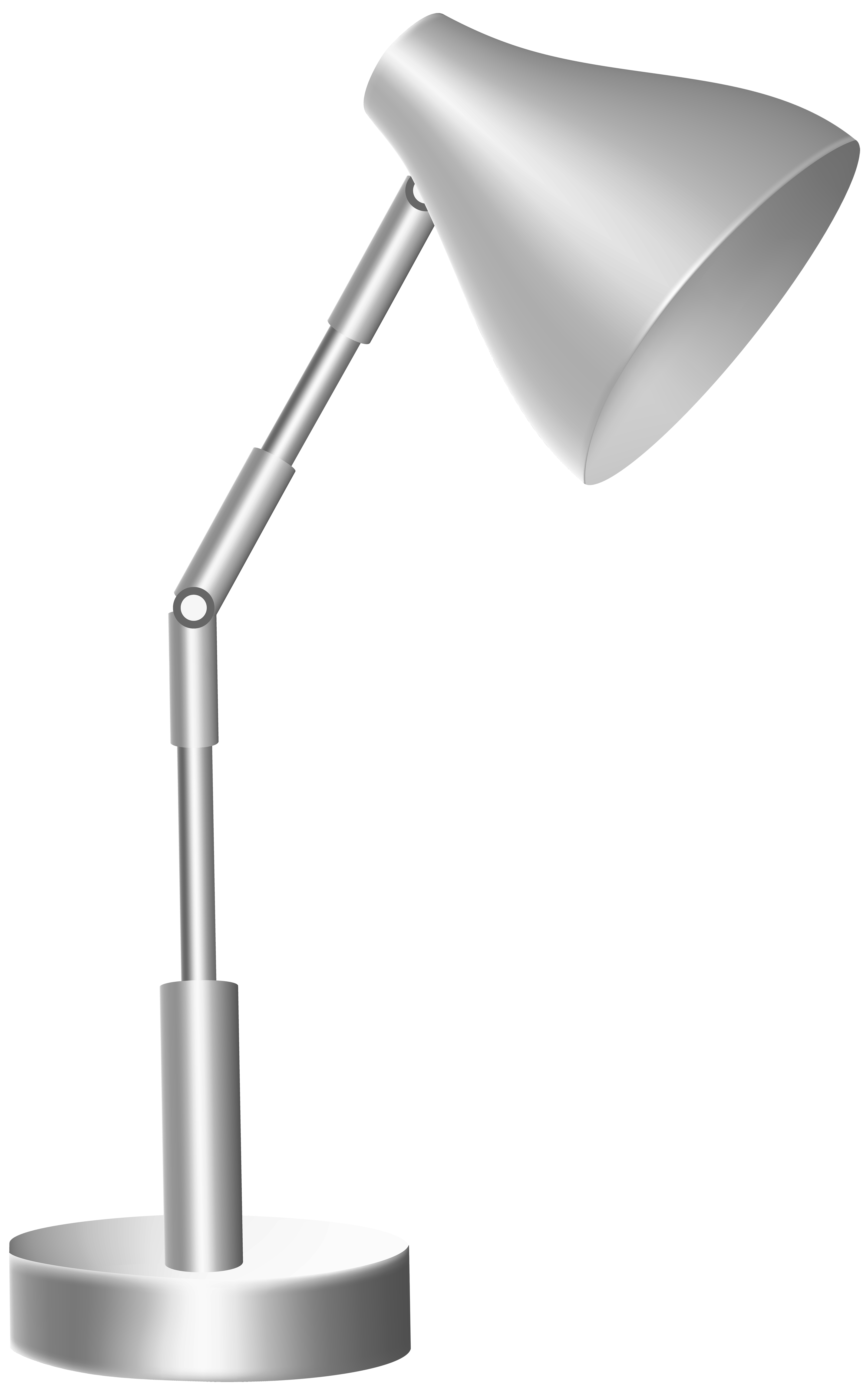 Desk lamp png. Silver clip art best