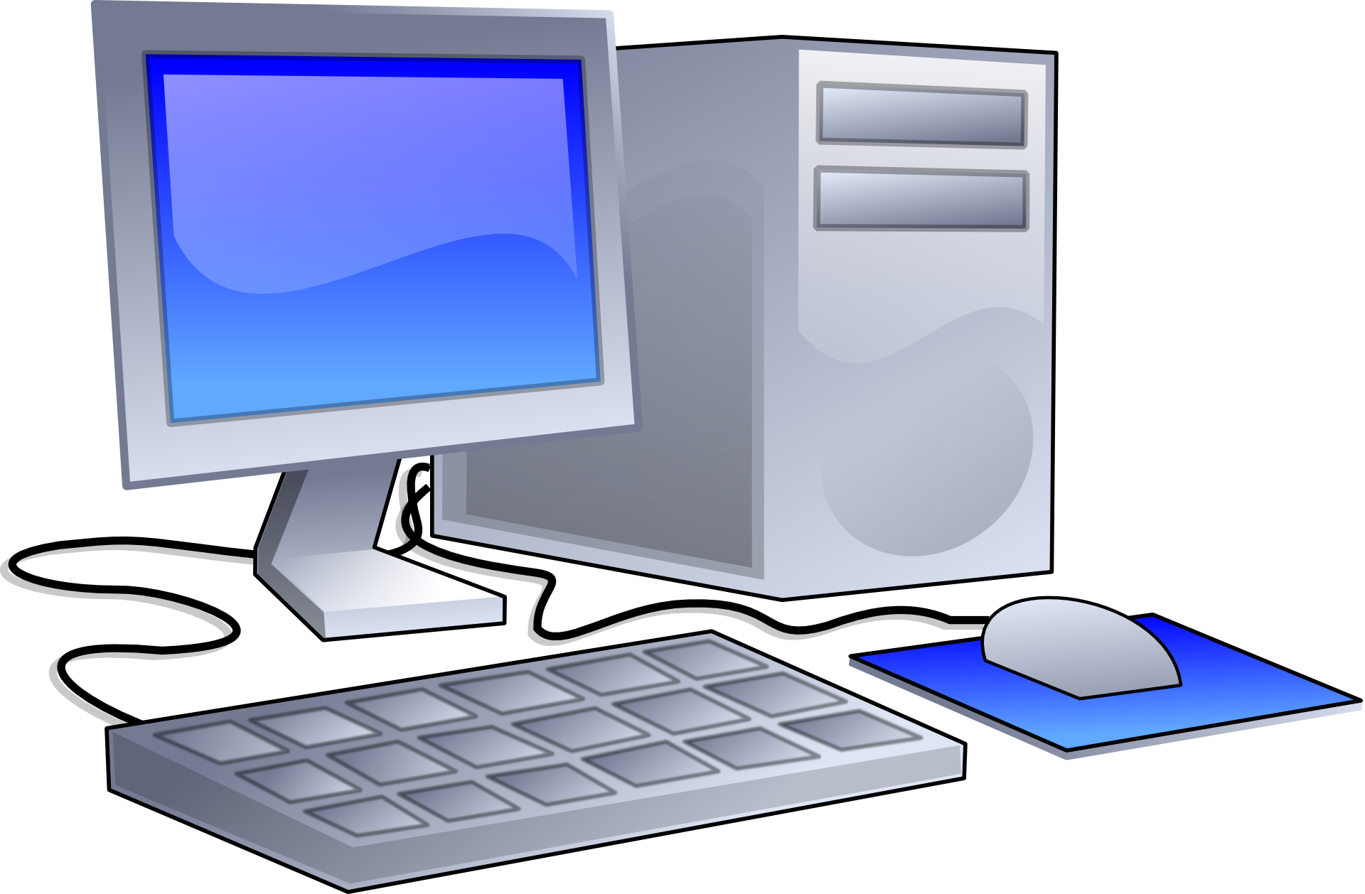 We provide the service. Drawing computers komputer vector free library