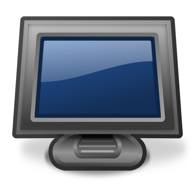 Monitor drawing touch screen. Computer icons monitors download