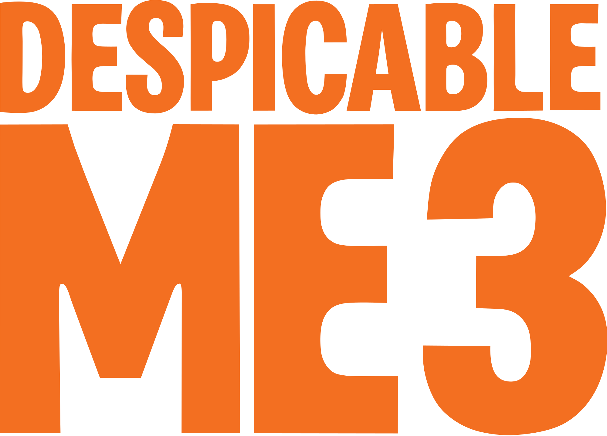 Despicable me 3 logo png. File svg wikimedia commons