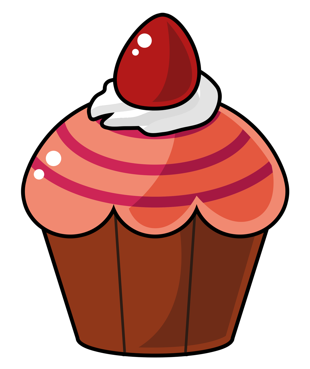 Muffin svg cartoon. Free desserts cliparts download