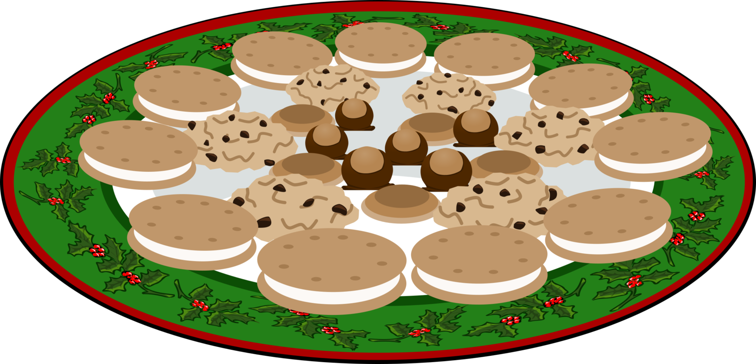 Cookie clipart coffee. Chocolate chip biscuits christmas