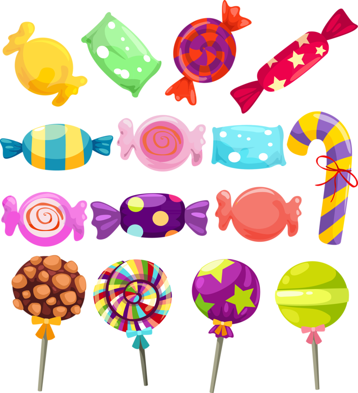 Candies drawing candy land. Dessert clipart colorful clip