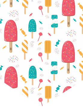 Dessert clipart red popsicle. Luigi s pockets