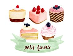 Desserts clipart tea party. Cupcake bakery cakes bake