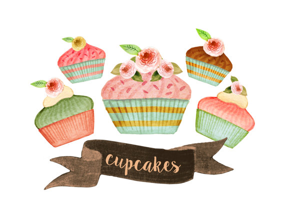 desserts clipart tea party