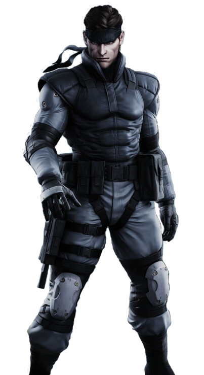 Big boss metal gear solid 5 png