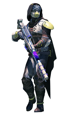 Hunter destiny png. Exclusive content playstation armor