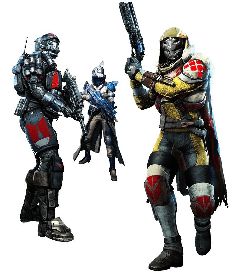 Destiny characters png. And expansions game