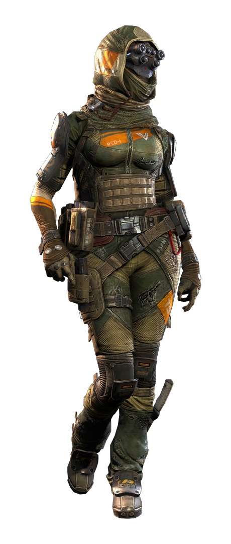 Female soldier png