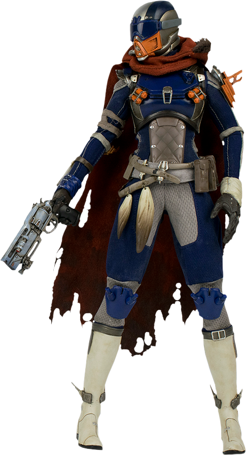 Destiny hunter png. Th scale action figure