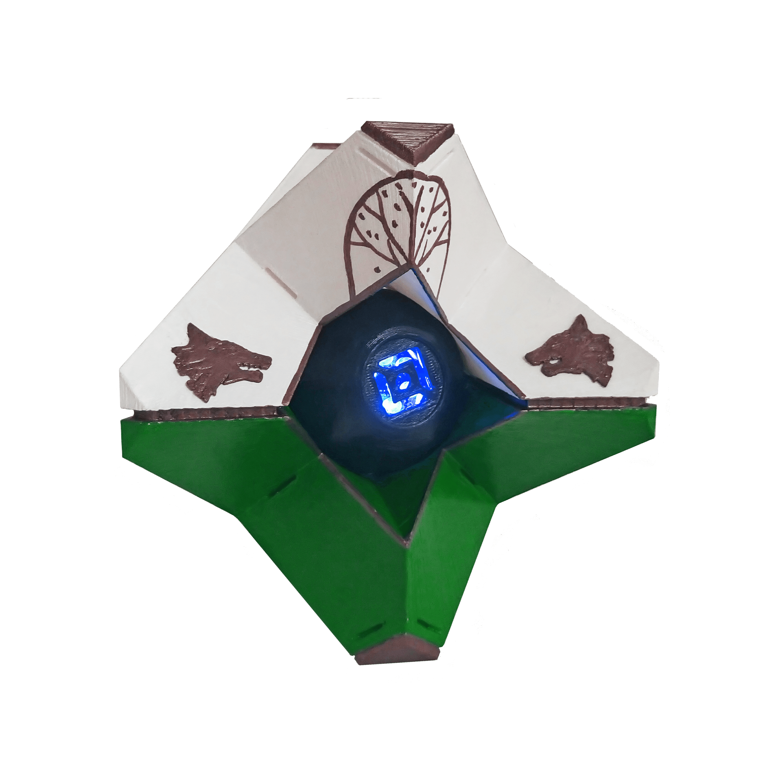 Destiny ghost png. Full sized iron banner