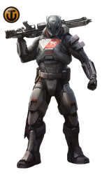 Titan destiny png. Render by keithjhe on