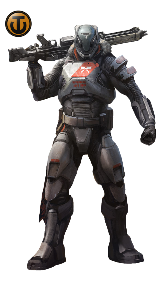 Destiny titan png. Render by keithjhe on