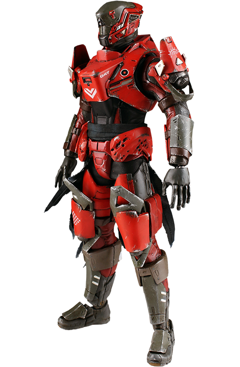 Destiny titan png. Sixth scale figure by