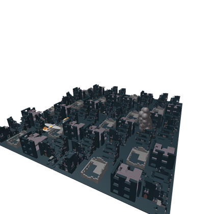 Destroyed city png. Roblox