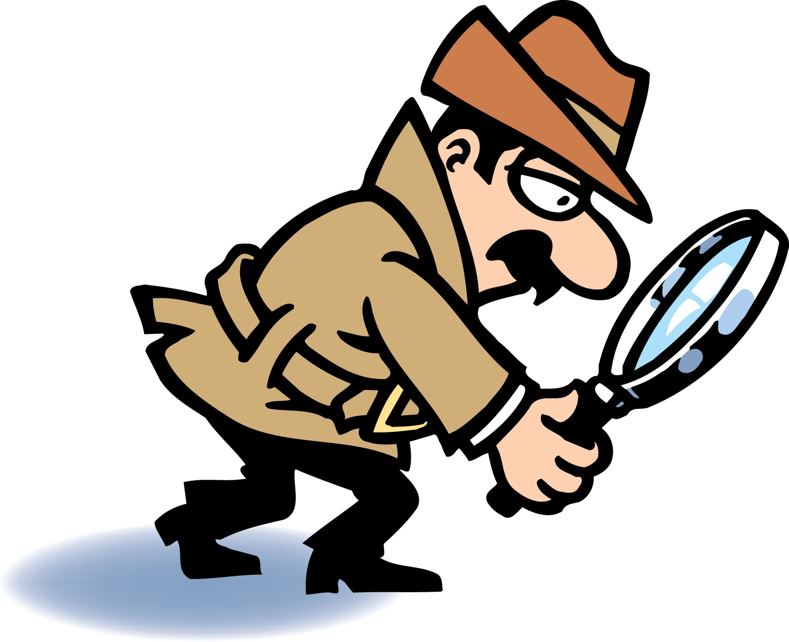 Awesome gallery digital collection. Detective clipart picture black and white library