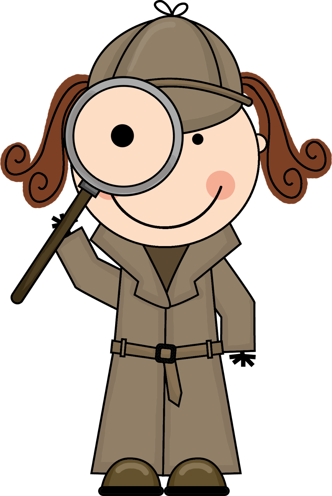mystery clipart private eye