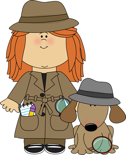 Mystery clipart cartoon. Detective clip art images