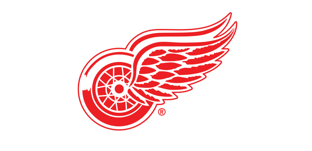 Detroit red wings logo png. Sheahan and smith autograph