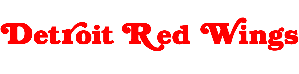 Detroit red wings logo png. Font download famous fonts