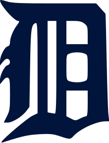 Detroit tigers logo png. D transparent stickpng