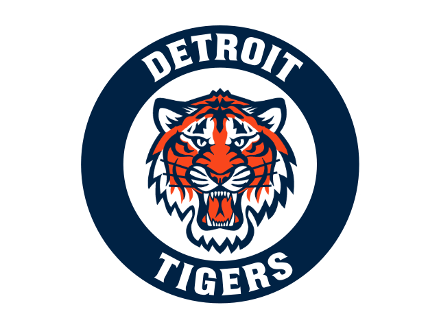 Detroit tigers logo png. Circle transparent stickpng