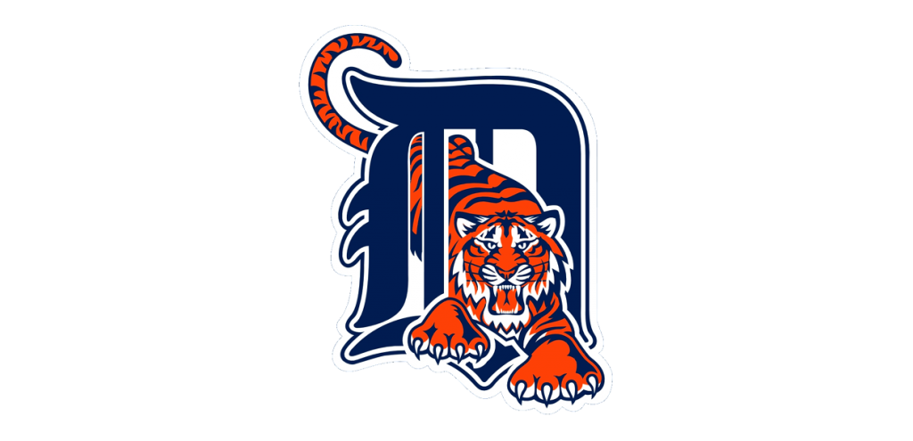 Detroit tigers logo png. July dh game recap