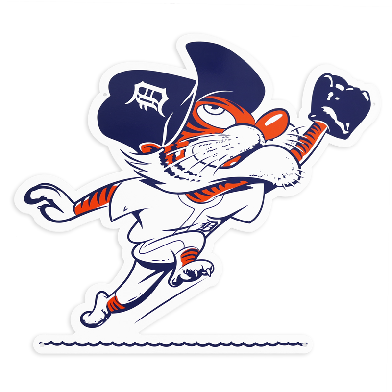 Detroit tigers logo png. Authentic street signs catching