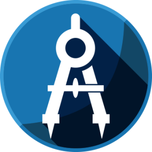 Drawing icons engineering. Free design icon download