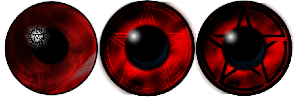 evil transparent eye