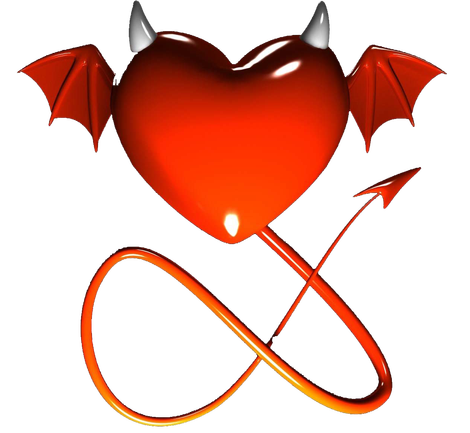 Devil horns and tail png. Sepo logo blancokopie heart