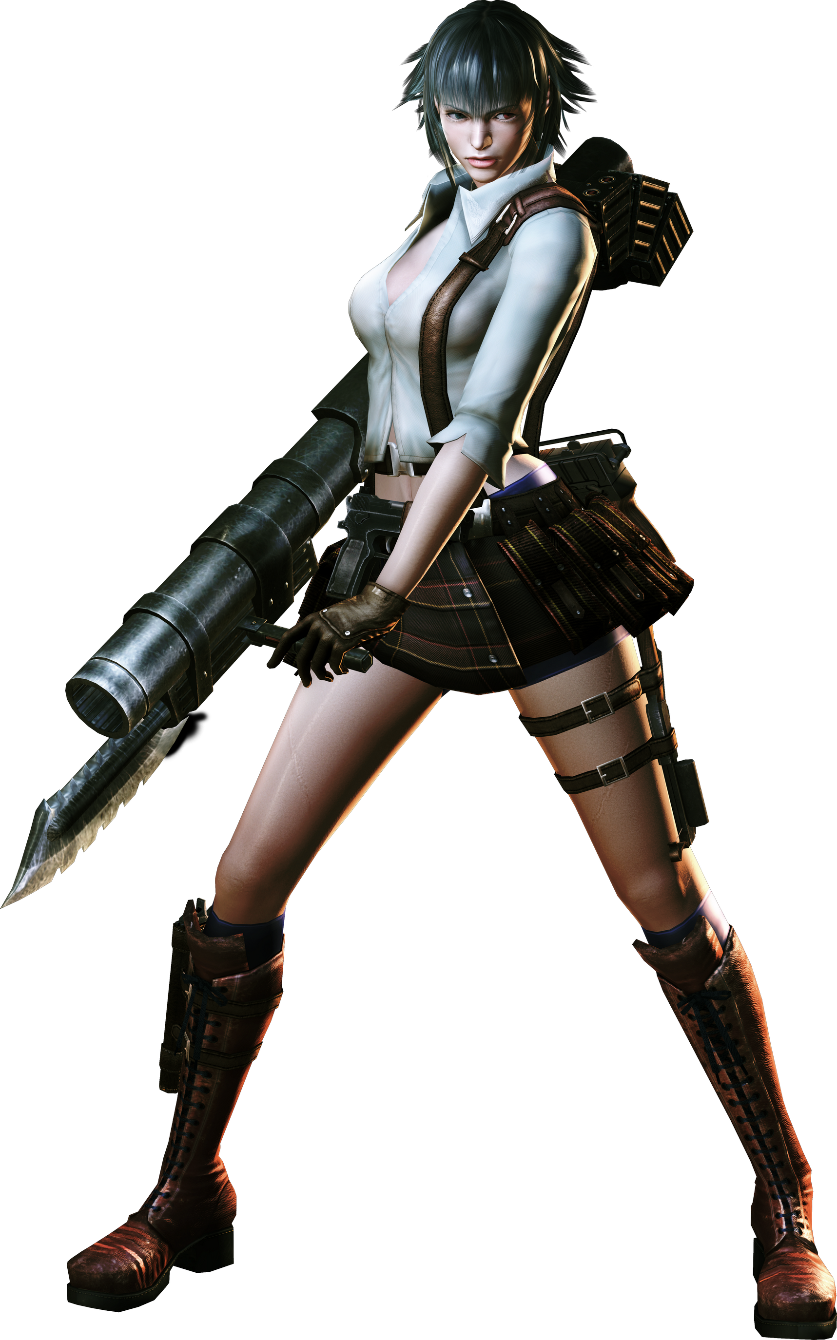 Devil may cry 3 png. Image dmc lady model