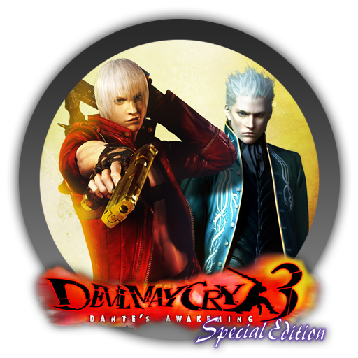 Devil may cry 3 png. Special edition icon by