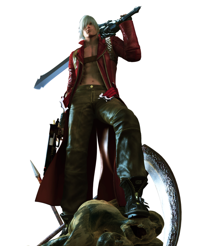 Devil may cry 3 png. By bloomsama on deviantart