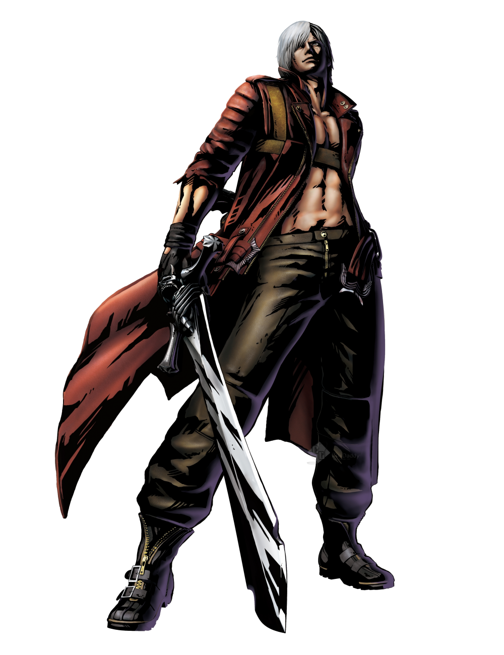 Devil may cry 3 png. Dante cosplay costume