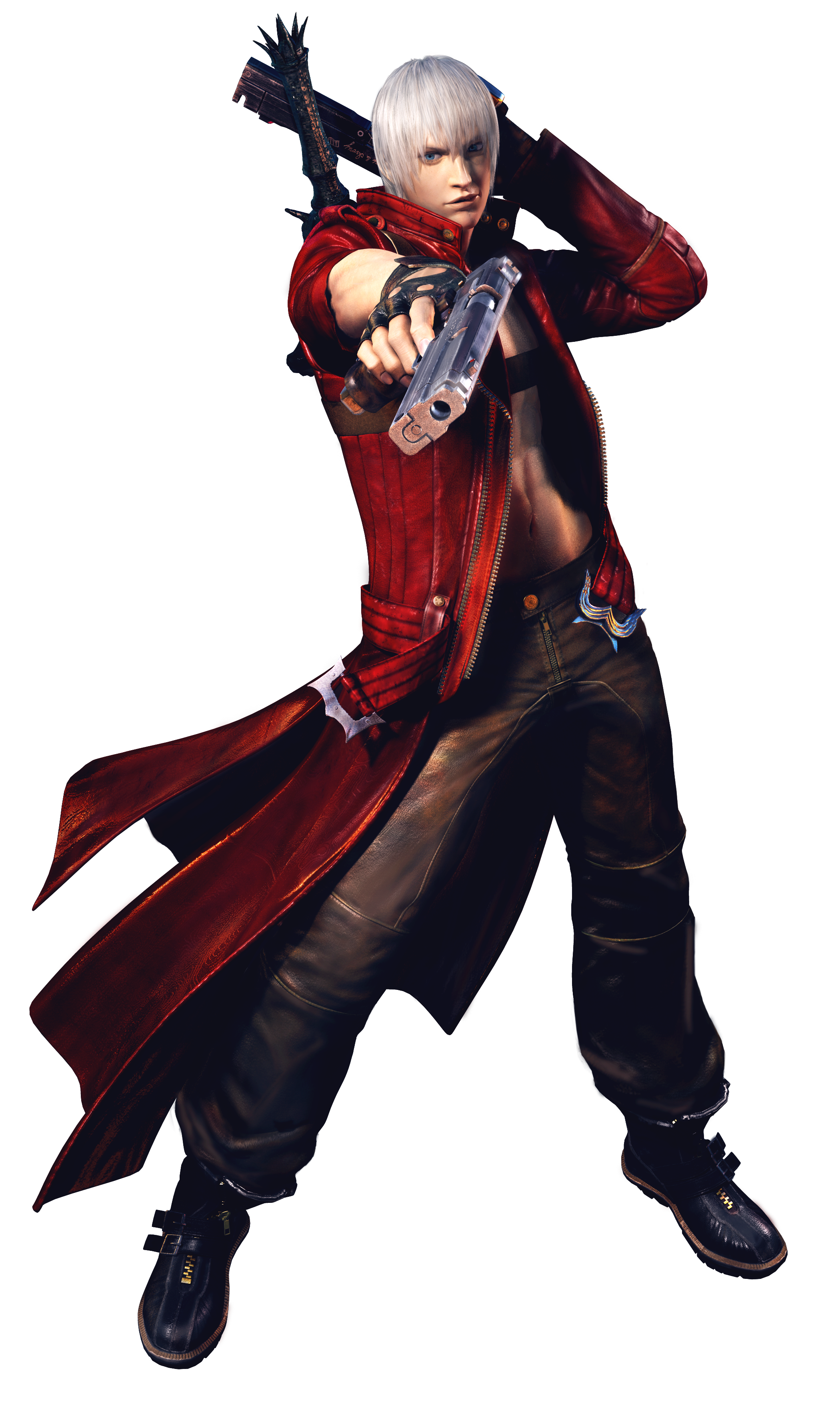 Devil may cry 3 png. Image dmc dante wiki
